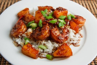 Shrimp & Pineapple Teriyaki